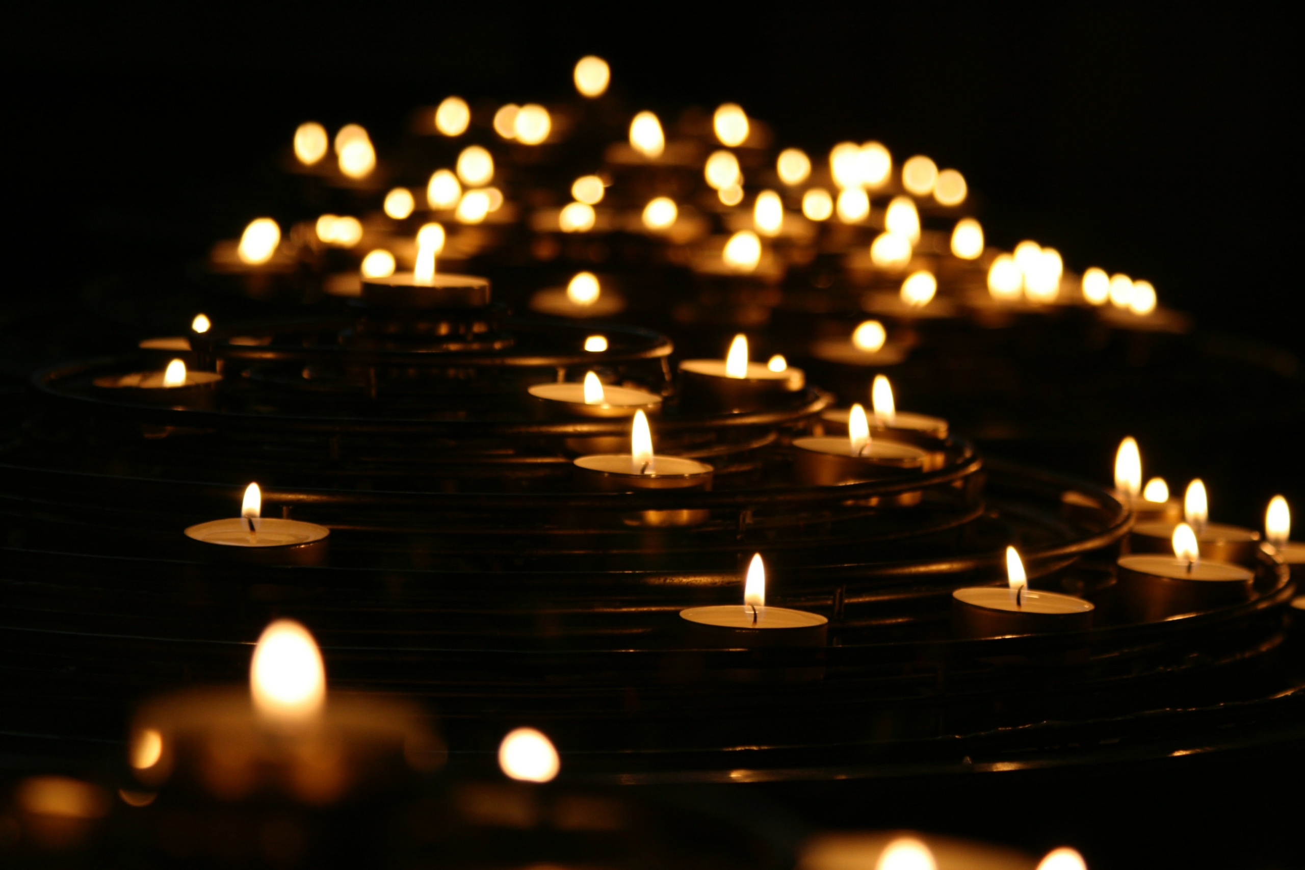 tealights light the way for grief and managing difficult times